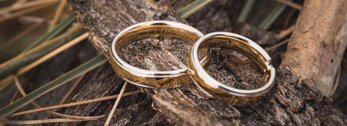 Mit eurer heirat wird eure Liebe bekräftigt